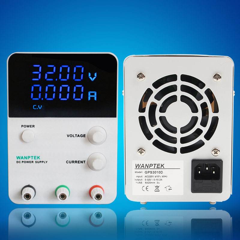 GPS305D 30 V 5A monophasé réglable Numérique régulateur de tension Mini laboratoire alimentation 0.01 V 0.001A DC alimentation