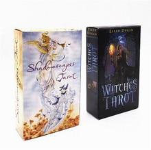 Новый мистический Таро колода карты читать мифическая судьба гадания для Фортуна ведьмы карточная игра shadowscapes Таро