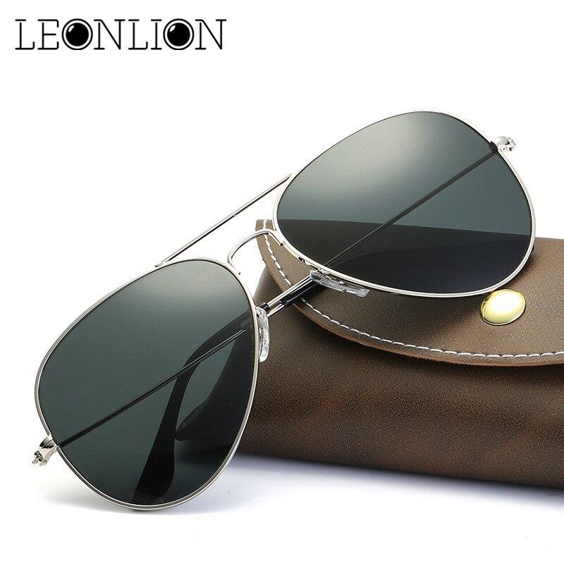a531b1958040 LeonLion 2018 Pilot Sunglasses Women Men Top Brand Designer Luxury Sun  Glasses For Women Retro Outdoor Driving Oculos De Sol-in Sunglasses from  Apparel ...