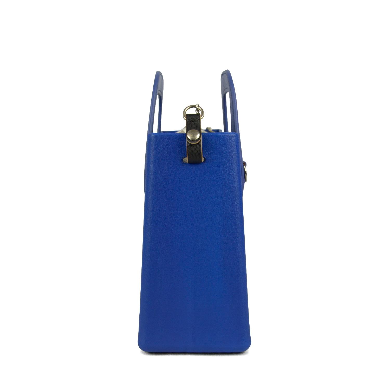 Bagaj ve Çantalar'ten Üstten Saplı Çanta'de Yeni O çanta tarzı huntfun silikon kare EVA çanta kadın çanta deri dikdörtgen kolu Crossbody omuzdan askili çanta zincir ekle'da  Grup 3