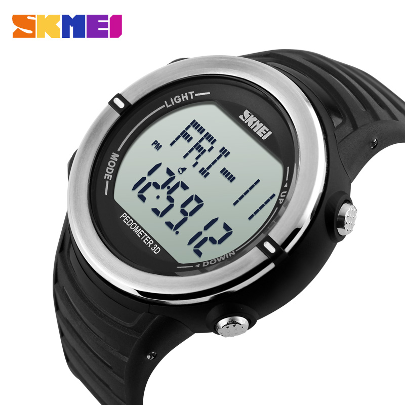SKMEI New Watch Men Digital Fashion Casual Military Army Running Sports Heart Pate Wristwatch Relogio Masculino Top Brand 1111