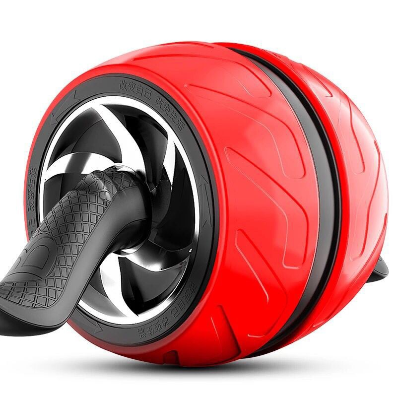 Anti-bruit Anti-bruit ABS AB rouleau Abdomen puissance rouleau rebond rouleau Abdominal exercice musculaire roue d'entraînement