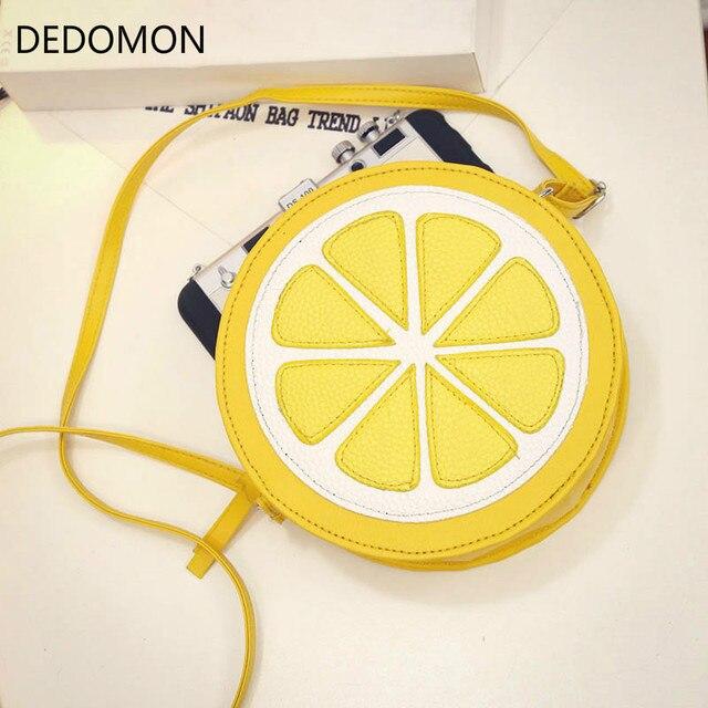 Circular Orange Lemon Women...