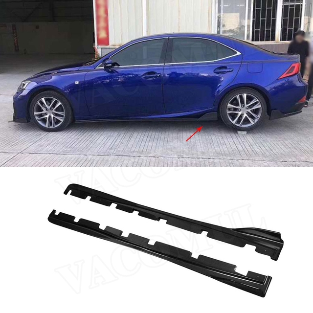 39be6cc159 Carbon-Fiber-Side-Skirts-Protector-Body-Kits-for-LEXUS-IS300-IS350-IS-F-Sport-Sedan-4.jpg_640x640.jpg