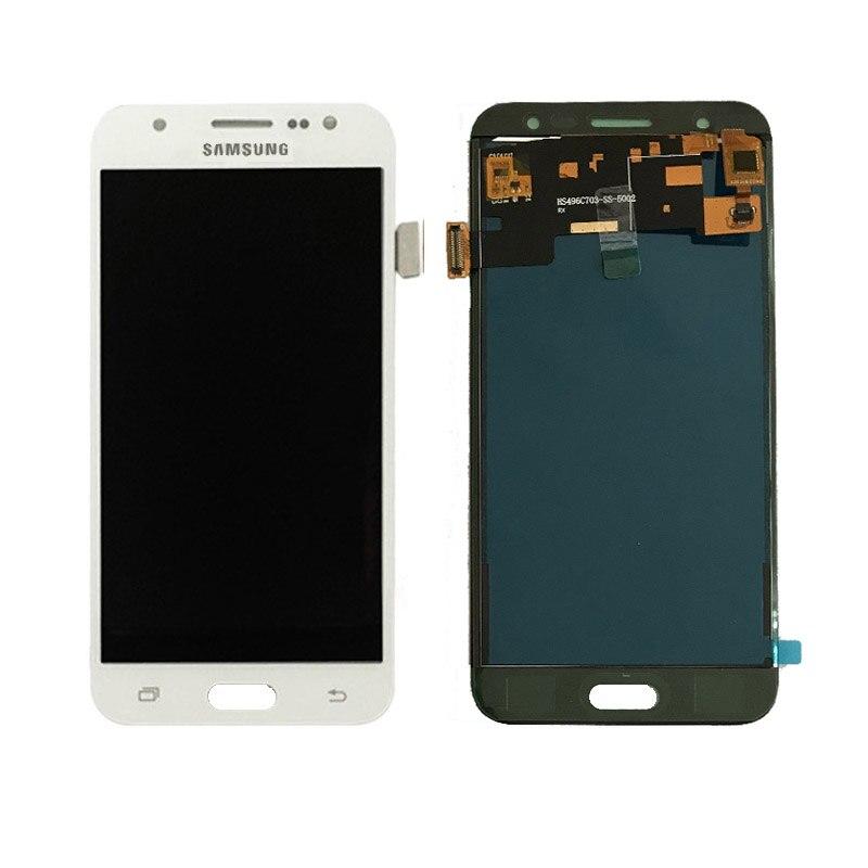 Para Samsung GALAXY J5 J500 J500F J500FN J500M J500H 2015 pantalla LCD con pantalla táctil digitizador Asamblea no ajustar el brillo
