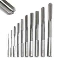 10pcs HSS H7 Straight Shank Milling Reamers Set Mayitr Precision Chucking Machine Cutter Tool 3/4/5/6/7/8/9/10/11/12 mm