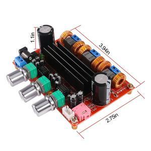 Image 4 - TPA3116D2 50Wx2 100W 2,1, amplificador Digital de canal de sonido 12 24V DC XH M139