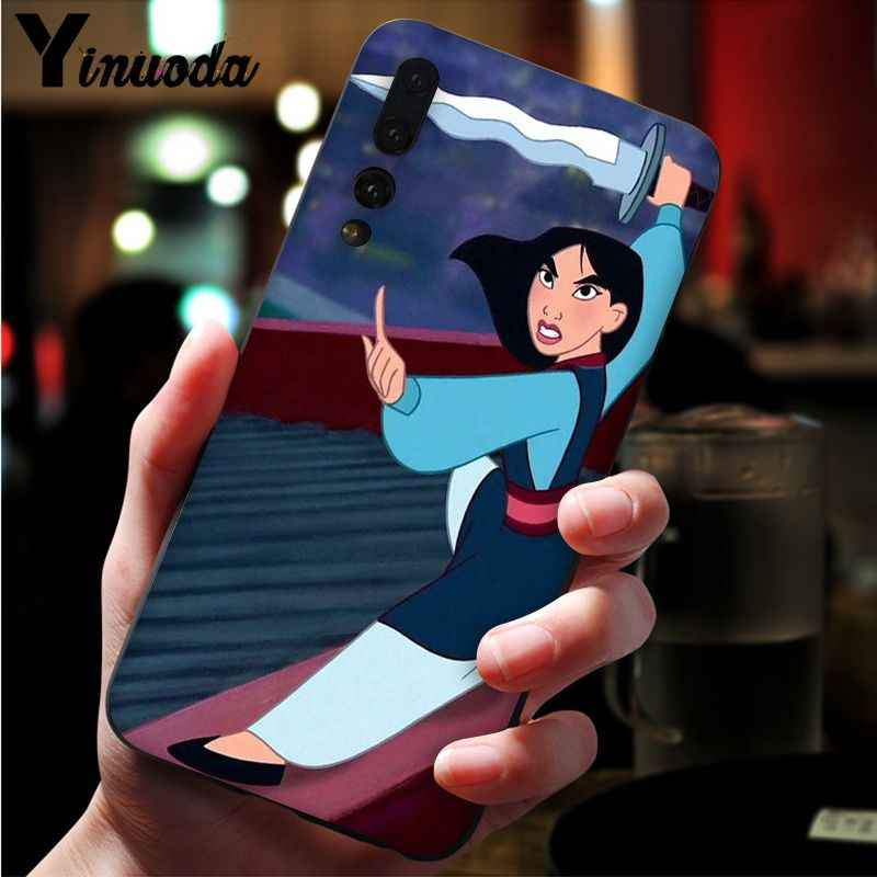 Yinuoda китайская Кукла Легенда Mulan черный чехол для телефона для huawei Mate10 Lite P20 Pro P9 P10 плюс Mate9 10 Honor 9 10 вид 10