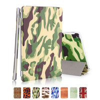 For Ipad Mini 2 Smart Cover Pu Leather 7 9 Inch With Plastic Bottom Funda Magnetic