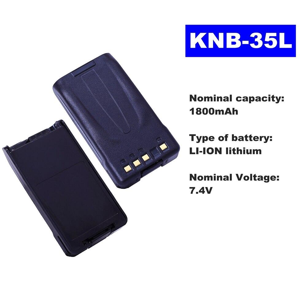 7.4V 1800mAh LI-ION Radio Battery KNB-35L For Kenwood Walkie Talkie TK-2140/3140/3160/2160/3148/3178  Two Way Radio