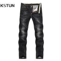 KSTUN Spring Summer Men S Jeans Stretch Skinny Slim Fit Pencils Denim Pants Casual Long Trousers