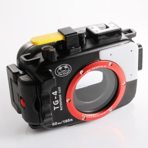 40M Pro Underwater Protective Waterproof Housing Case Box Diving Cover for Olympus TG 3 TG4 Camera