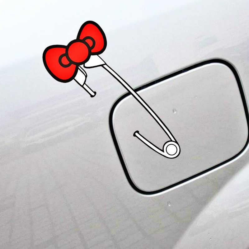 Etie New Cute Bow Pin Car Sticker Creative Decal Decoration for BMW X1 X3 X5 1series 3series 5series 7series ///M Series