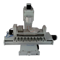 CNC router frame 3040 3 4 5 axis column ball screw type engraving machine for DIY milling machine