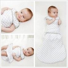 Cocoon Baby Sleeping Bag envelope for Newborns Swaddle Cotton 2 Zipper sleep bag boys/girls Sleepsack Baby Bedding Accessories