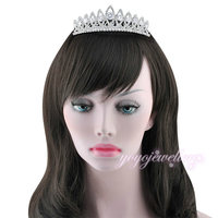 New 2015 Crystal Romantic Tiaras Women Fashion Hair Jewelry For Wedding Bridal Accessory C1