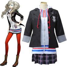 купить Game Persona 5 The Animation Cosplay Costumes Ann Takamaki Cosplay Costume Uniform Halloween Carnival Party Women Anime Costume по цене 1649.29 рублей