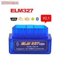 Super Mini Elm327 Bluetooth V2.1 OBD2 Scanner ELM 327 Bluetooth Smart Car ferramenta de Diagnóstico ELM 327 Interface de