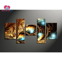 5d Diy Diamond Painting Full Drill Resin Diamond Embroidery Triptych Painting Rhinestones Modular Wall Paintings Hobby