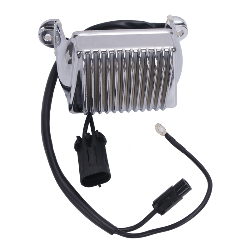Chromium Voltage Regulator Rectifier For Harley Davidson Touring Road King Glide 74505-04 498267 Replacement Regulator #M017-1 ricks motorsport electric rectifier regulator 10 134