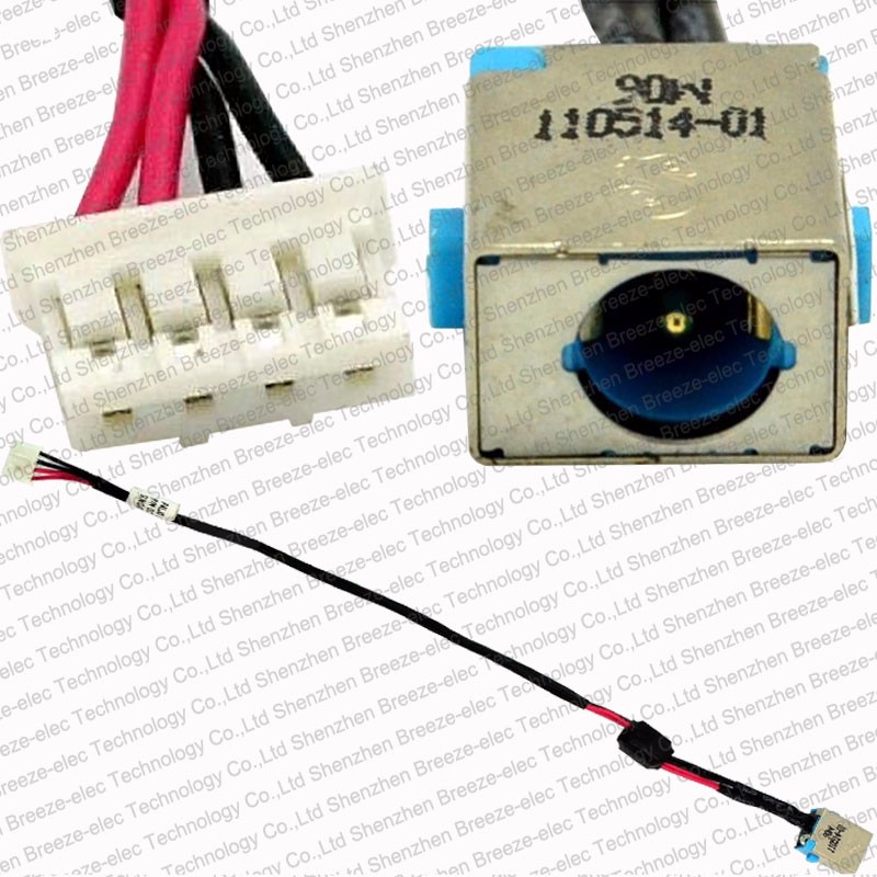 ACER ASPIRE V3-571-6643 V3-571-6428 DC POWER JACK HARNESS Socket with Cable