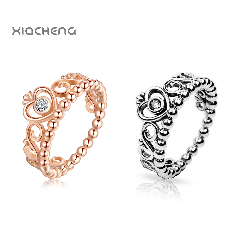 pandora anello oro rosa