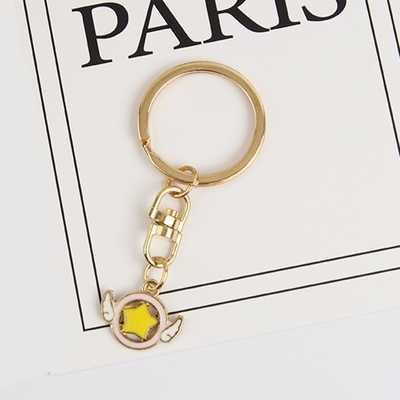 ดอกไม้ SAKURA SAILOR Moon แคคตัส FIRE-BIRD จี้โลหะพวงกุญแจ Keychain Charm กระเป๋าจี้ของขวัญ J25