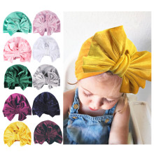 Newborn Toddler Kids Baby Boy Girl Bowknot Turban Beanie Hat Headwear Minnie Headbands Fashion Headdress