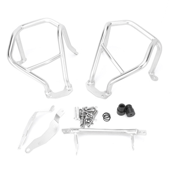 Motorcycle Upper Lower Engine Guard Highway Crash Bar Protector For BMW R1200GS 2004 2005 2006 2007 2008 2009 2010 2011 2012