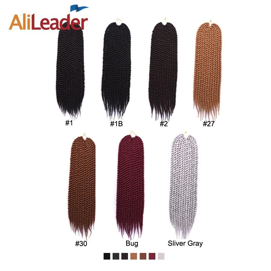 AliLeader Hair Extension 12 18 22 Inch Crochet Braids Burgundy Black Silver Color Havana Twist Synthetic Braiding Hair 1 10pcs in Havana Twist Braids from Hair Extensions Wigs