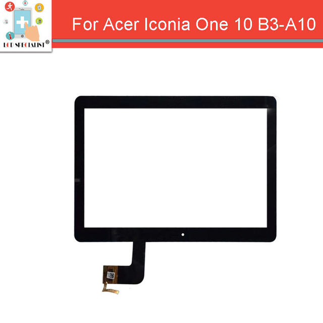 """10.1"""" For Acer Iconia One 10 B3-A10 B3-A10-K3BF Touch Screen Panel Digitizer Sensor Glass Black color"""
