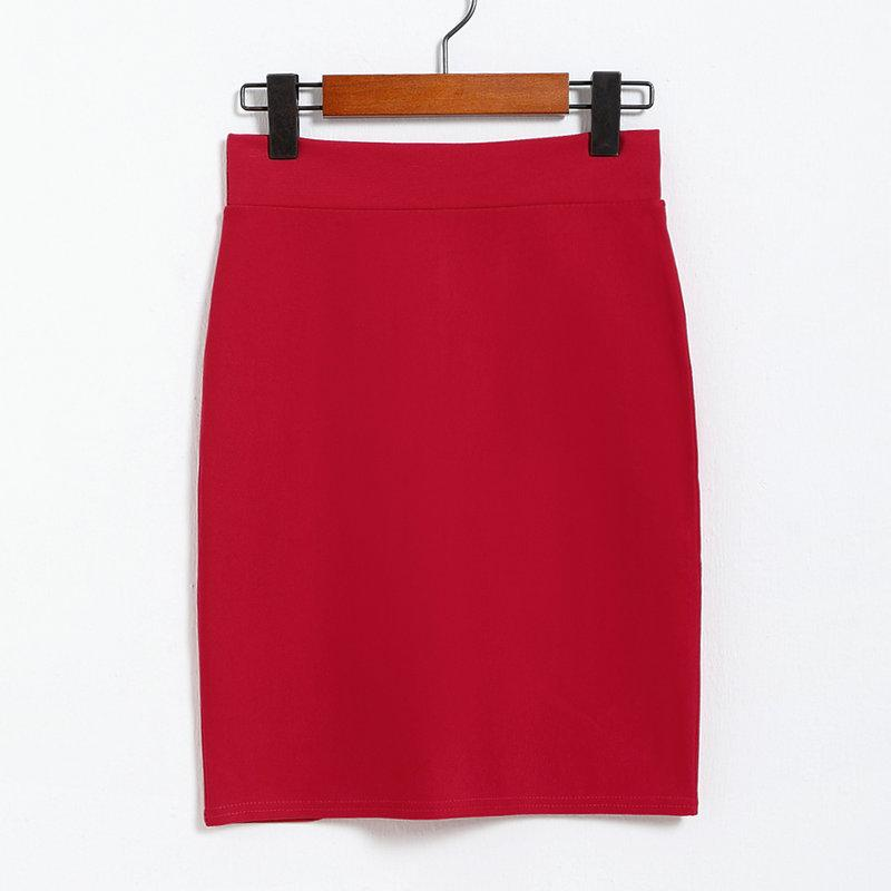 Popular Red Knee Length Skirt-Buy Cheap Red Knee Length Skirt lots ...