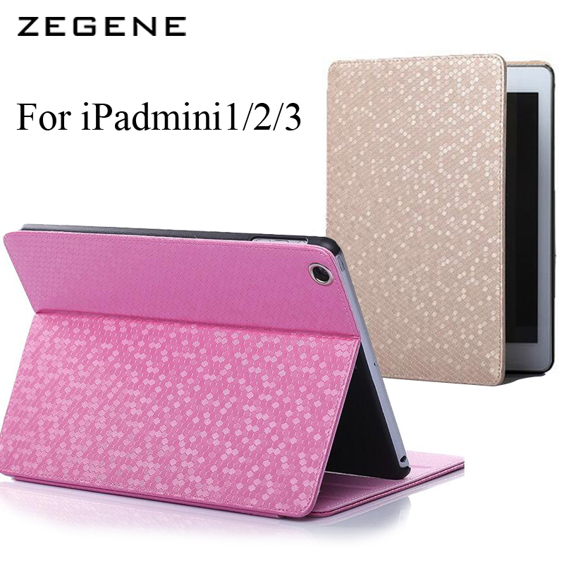 2016 Newe For Apple ipad mini1/2/3 Case Auto Sleep Wake Up Flip Litchi PU Leather Cover Smart Stand Holder Folio Case ultra thin for ipad air 2 case pu leather smart stand cover universal auto sleep wake up flip 9 7inch case for ipad air 1 2