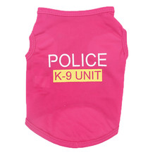 "Super cool ""Police K-9 Unit"" chihuahua vest / shirt"