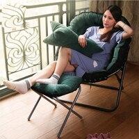 Ленивый погремушка диван одного татами Спальня Гостиная раскладное кресло дома японский мебель