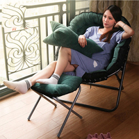 Lazy Beanbag Sofa Couch Single Tatami Bedroom Living Room Folding Lounge Chair Home Japanese Furniture