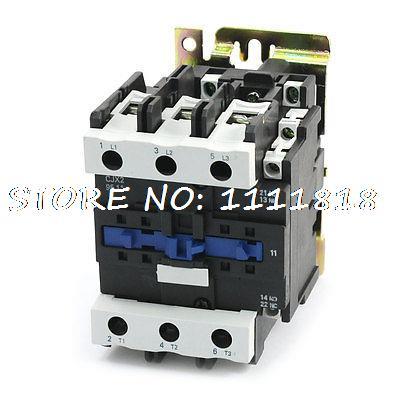 CJX2-9511 AC Contactor 110V 50/60HZ Coil Voltage 125A 3 Phase NO+NC high quality cjx2 cjx2 9511 95a