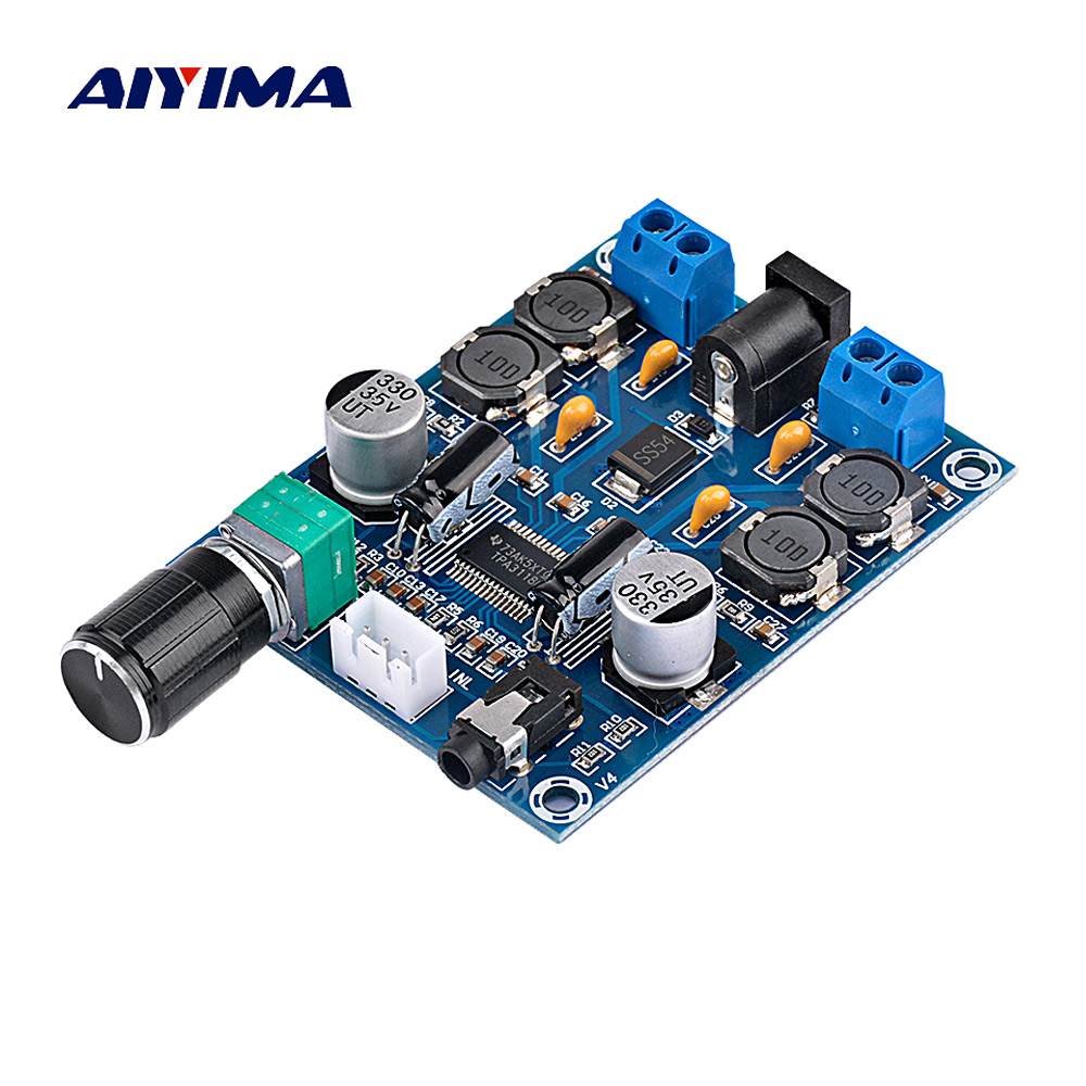 Aiyima TPA3118D2 Amplificatore Digitale Consiglio Amplificador A Doppio Canale Amplificatore Audio di Bordo 45 w * 2 Per 4-8ohm Speaker Amp FAI DA TE