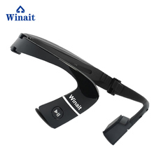 Winait Stereo Bonce Conduction Headset, sprorts Wireless MP3 player free shipping alphard deaf bonce db t35neo