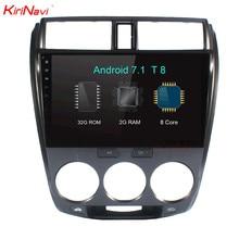 KiriNavi 10 2 Octa Core Android 7 1 Car Radio For Honda City Stereo Audio font