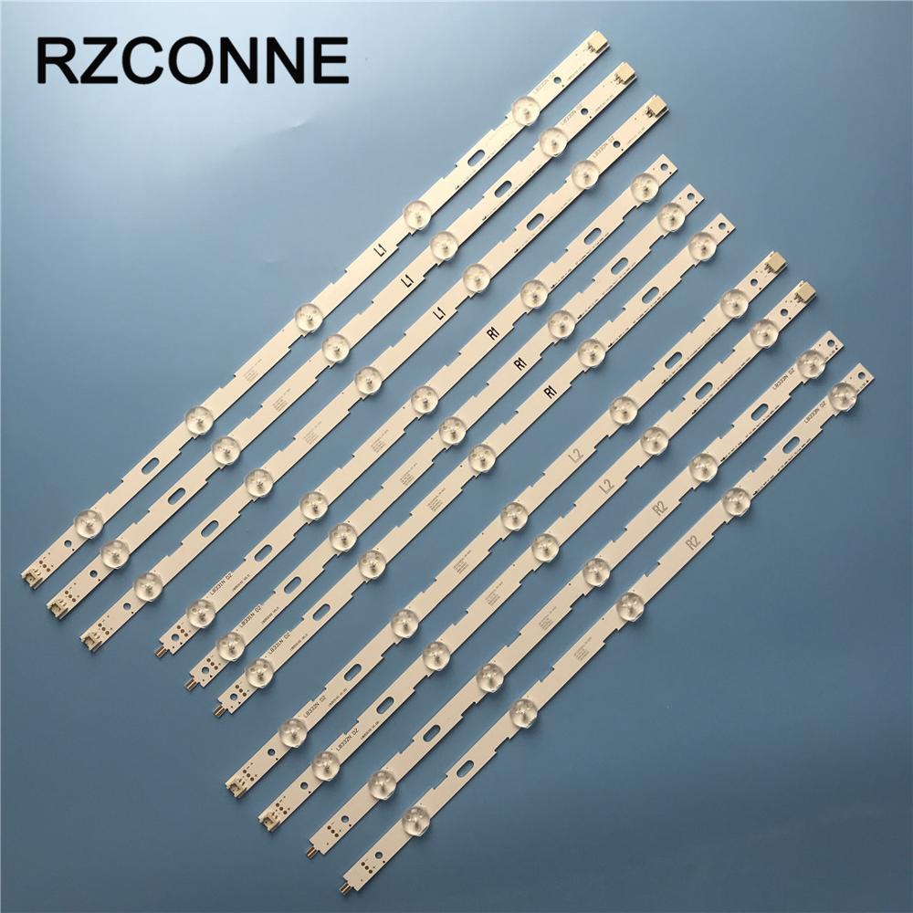 10pcs LED Strip For LG 42 V13 cDMS Rev1 0 1 L1 R1 L2 R2 Type