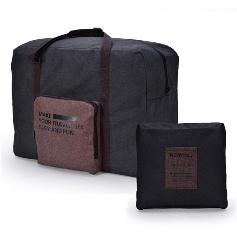 Cationic Waterproof Folding Travel Bag Large Capacity Organizer Bag Duffel Bag Fashion Travel Bags Hand Luggage in Travel Bags from Luggage Bags