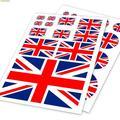 England flagge design aufkleber auf auto/laptop/fahrrad, heißer doodle vinyl wasserdicht aufkleber, 2 modelle verfügbar