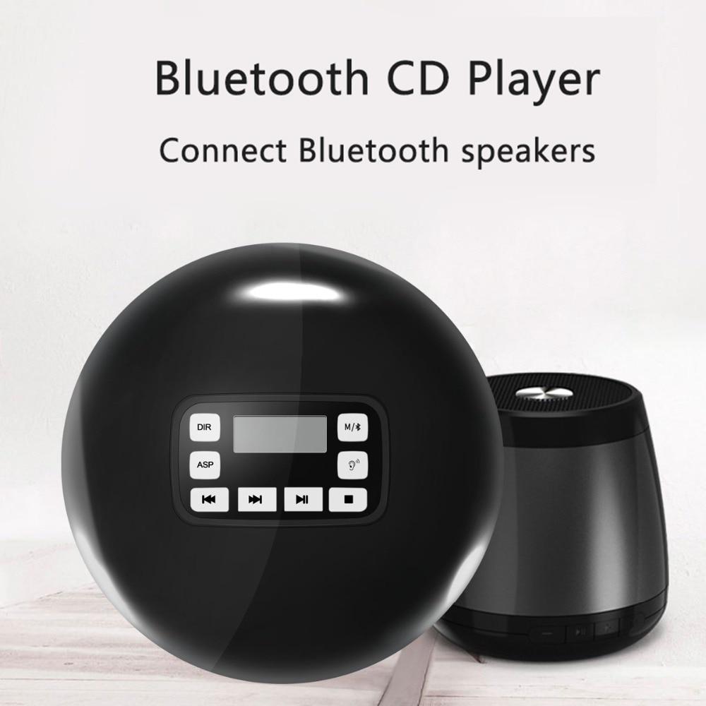 Lecteur CD Portable Bluetooth avec affichage LED/Protection casque lecteur de disque de musique CD personnel pour enfants adultes CD personnelLecteur CD Portable Bluetooth avec affichage LED/Protection casque lecteur de disque de musique CD personnel pour enfants adultes CD personnel