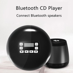 Portable Bluetooth CD Player with LED Display/Headphone Protection Personal CD Music Disc Player for Kids Adults Personal CD