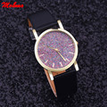 Fashion Leather Watch Women Rhinestone Watches Lady Dress quartz imitate diamond wristwatch Ladies Relogio