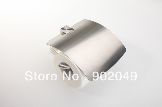 High Quality Toilet Paper Holders Stainless Steel Paper Towel Shelf Bathroom Accessories ZF-334