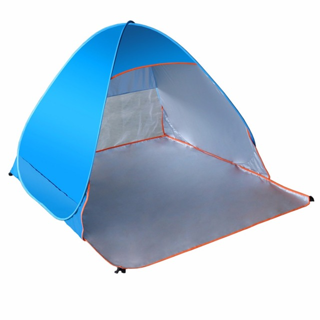 LumiParty Folding Beach Tent Automatic Pop Up Tents Outdoor C&ing Anti-UV Sun Shade Shelter  sc 1 st  AliExpress.com & LumiParty Folding Beach Tent Automatic Pop Up Tents Outdoor ...