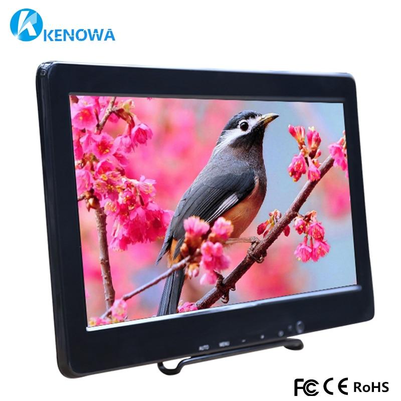 13.3 Inch HD Monitor 1366X768 LCD Screen Panel PS3 PS4 Xbox360 Display Monitor HDMI/VGA/AV/USB for Raspberry Pi Windows 7 8 10