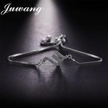 JUWANG Scorpio Zodiac Sign Astrology 12 Constellation CZ Charm Bracelet October And November Birthday Gift For Women Girls